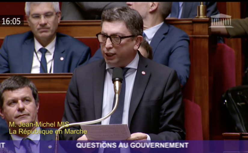 La French Tech stéphanoise au coeur de ma question au gouvernement